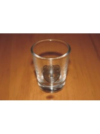 AF OSI SHOT GLASS, CLEAR