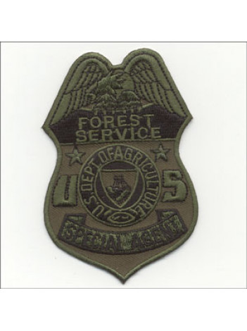 "USFS, BADGE PATCH SPECIAL AGENT, 2 1/2"" 493699"