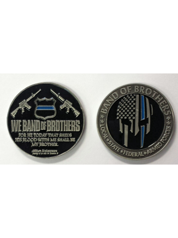 BAND OF BROTHERS CHALLENGE COIN