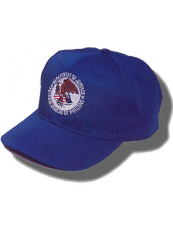 BOP Baseball Hat - Embroidered Seal