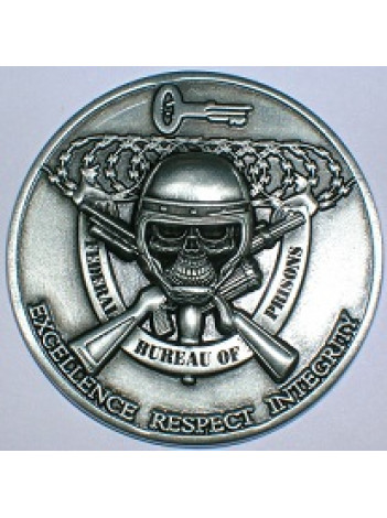 BOP CHALLENGE COIN