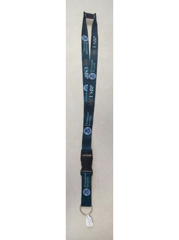BORDER PATROL LANYARD PRINTED WITH BUCKLE  8971