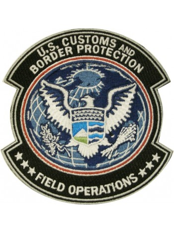 CBP FIELD OPERATIONS SHOULDER PATCH