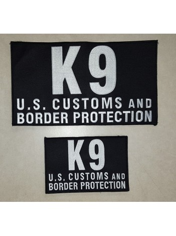 CBP K9 PATCH SET
