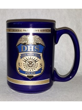 DHS FPS POLICE EXECUTIVE COFFEE MUG