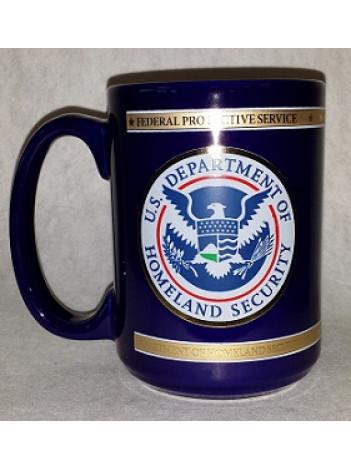 DHS FPS POLICE EXECUTIVE COFFEE MUG