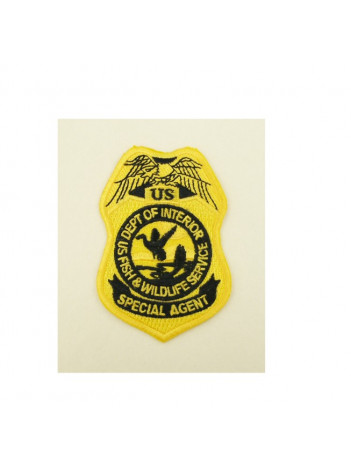 FWS SPECIAL AGENT PATCH 3 1/4 INCH