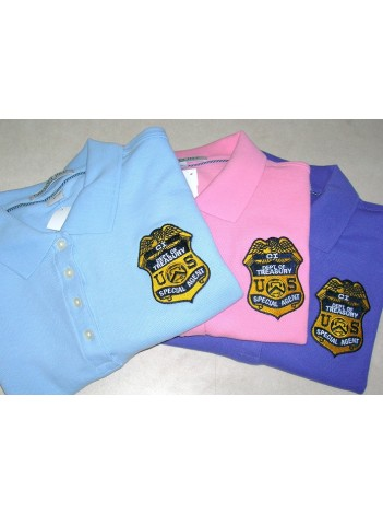 IRS-CID, LADIES CHESTNUT HILL POLO SHIRT