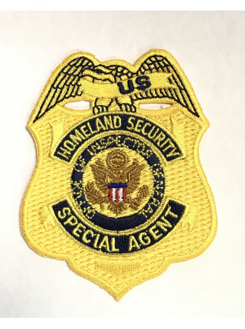 DEPT OF HOMELAND SECURITY OIG BADGE PATCH
