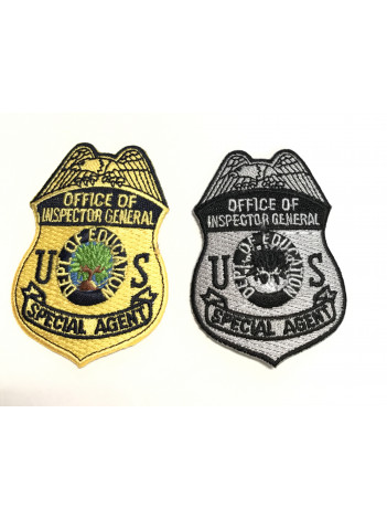 DEPT OF EDUCATION OIG PATCHES 2 7/8""
