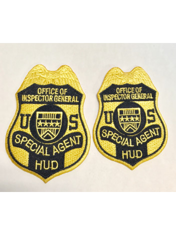 HUD OIG S/A BADGE PATCHES