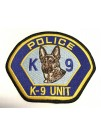POLICE K9 UNIT PATCH