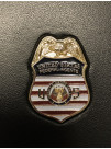 FEDERAL AGENT MINI BADGE FAMILY CRED CASE