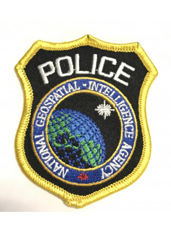 """NGIA POLICE SHIELD PATCH 3"""""""