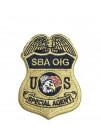 SBA OIG S/A BADGE PATCH 2 7/8""