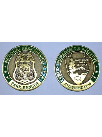 NPS CHALLENGE COIN