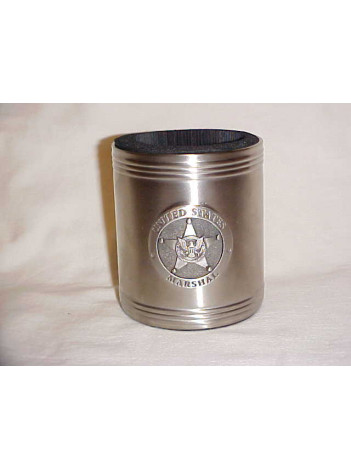 PEWTER CAN COOZIE