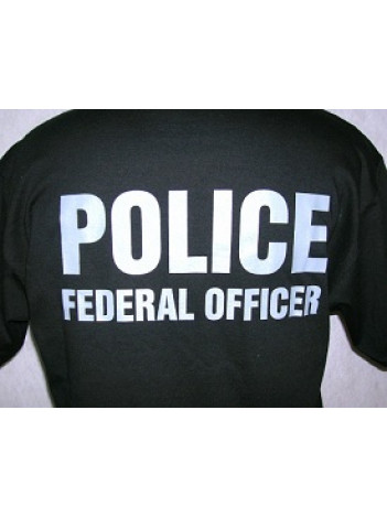 VA POLICE T-SHIRT W/ BADGE