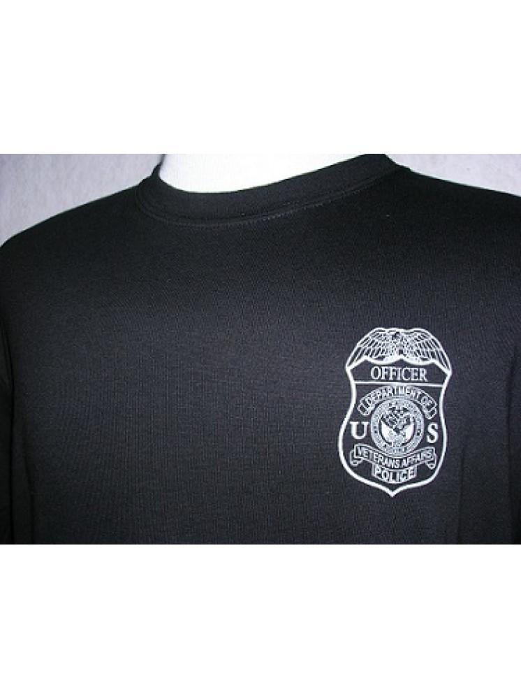 Va Police T Shirt W Badge
