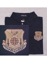 AF OSI, POLO W/COMMAND SHIELD,  K420