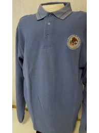 BOP UNIFORM POLO, LONGSLEEVE , 100% COTTON MANUFACTURED BY AD MEYERS
