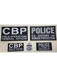 CBP 5 PATCH PANEL SET