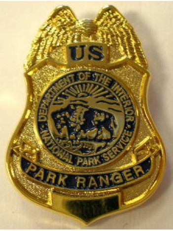Nps Tie Pin Park Ranger Badge 221570