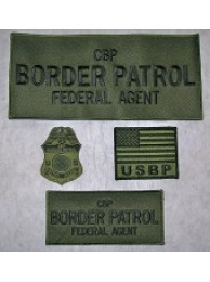 BORDER PATROL PATCH SET 3916