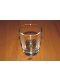 AF OSI SHOT GLASS, CLEAR