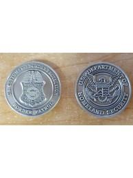 BORDER PATROL COIN 8955