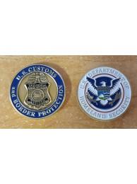 CBP COIN , BRASS, 8960