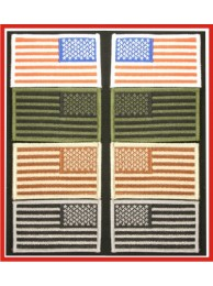 FLAG PATCH WITH VELCRO