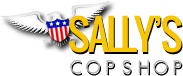 Sally's Cop Shop Coupons and Promo Code